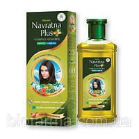 Масло от выпадения волос из индийских трав ТМ Navratna, 200мл