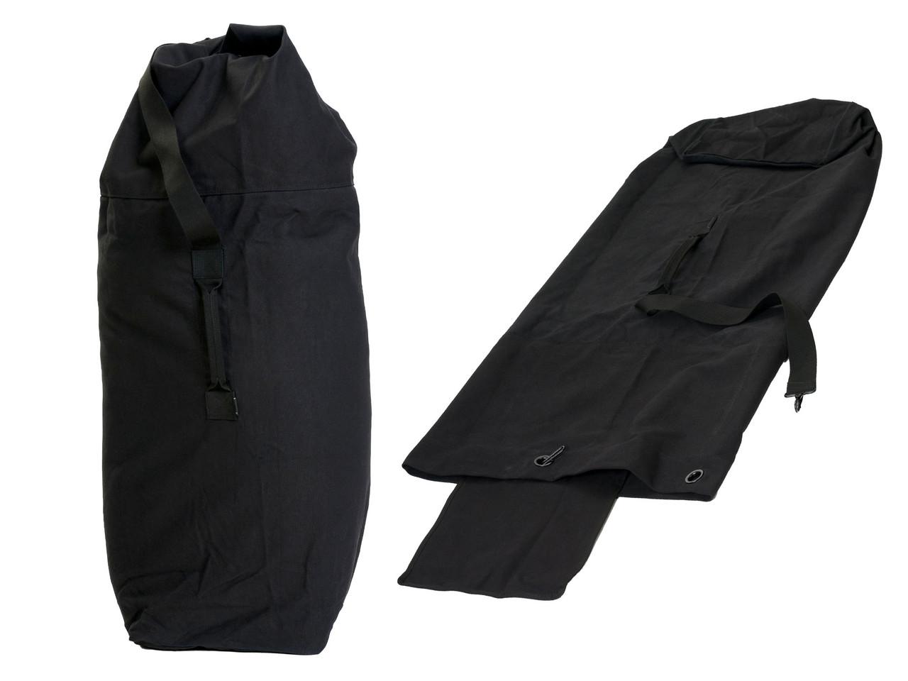 Вещевой мешок US NAVY DUFFLE BAG ЧЕРНЫЙ 125x75cm