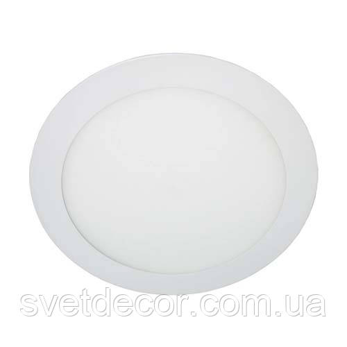 Светодиодный светильник Feron AL510 24W 4000К (LED панель) OL круглый белый