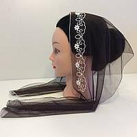 Христианский шарфик на голову