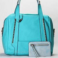 Женская сумка Gilda Tohetti голубая, фото 1