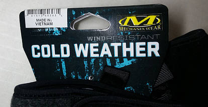 Зимние перчатки Mechanix (Cold Weather Wind Resistant), фото 3