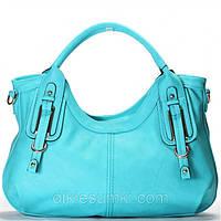Женская сумка Gilda Tohetti голубая