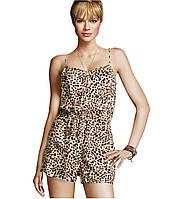 Леопардовый комбинезон на бретелях H&M