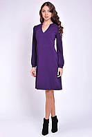 Платье женское синее повседневное, фото 3