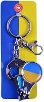 Брелок-кусачки (флаг Украины, карабин) UN-2