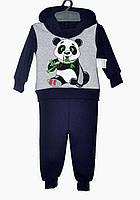 Костюм для мальчика 1-3 года Panda темно-синий