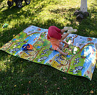 Детский коврик для ползания ребенка 2000х1200x8 мм
