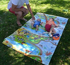 Детский игровой коврик «Мадагаскар» 2000х1200x8 мм