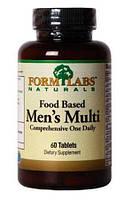 Food Based Men's Multi Form Labs, 60 таблеток