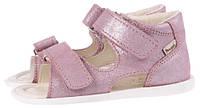 Детские босоножки р.22, 23 MRUGALA для девочек розовые 1105-50