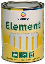 Краска для радиаторов Eskaro Element, 2.7л