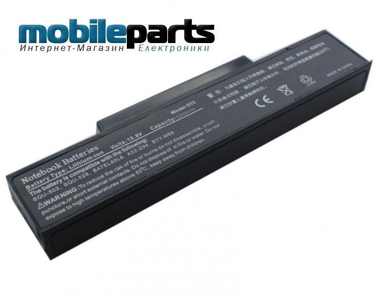Оригинальный аккумулятор, батарея АКБ для ноутбуков MSI M655 M670 EX400 GX620 BTY-M66 BTY-M68 ID6