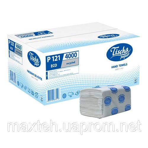 Полотенца бумажные Эко 200 листов, 1/ 40 г/м², серый