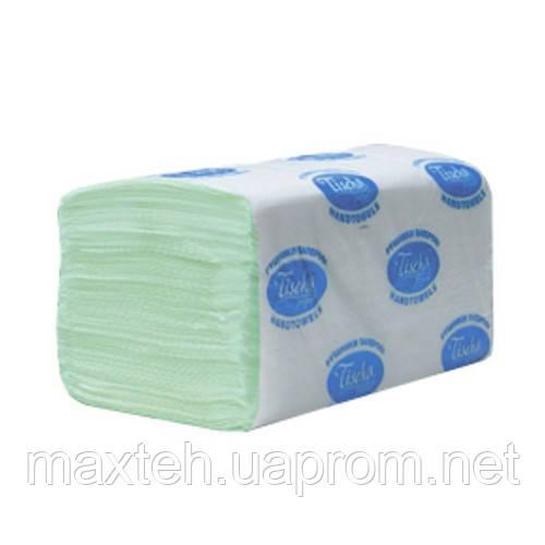 Полотенца бумажные Эко 200 листов, 1/ 40 г/м², зеленый