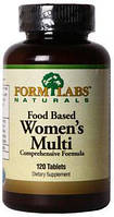 Food Based Women's Multi Form Labs, 120 таблеток