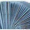 Полотенца бумажные Эко 200 листов, 1/ 40 г/м², голубой, фото 3