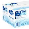 Полотенца бумажные Эко 200 листов, 1/ 40 г/м², голубой, фото 4