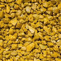 Декоративный щебень цветной желтый