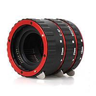 Автофокусные макрокольца Canon EF-S (red), фото 1
