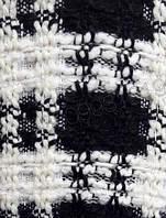 Ткань Шанель черно белая клеточка,ткани Шанель оптом Украина,ткани АРТ ТЕКСТИЛЬ