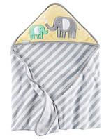 Полотенце с уголком Дружные слоники Carter's