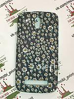Чехол для HTC Desire 500 (Ромашки)