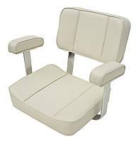 Кресло сиденье для лодки и катера Captain 1004001 белое