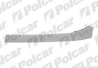 Накладка под фару (ресничка) левая 96-02 PEUGEOT Partner / CITROEN Berlingo Polcar