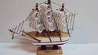 Корабль деревянный собранный размер 14*13*4