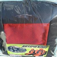 Чехлы универсальные Tuning  Original В ткань+поролон красные (дорогие)