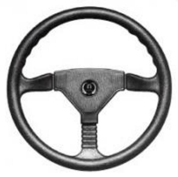 Рулевое колесо 35 см Champion 2 Teleflex из черного пластика