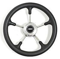 Рулевое колесо 32 см Pretech BS нержавейка и черный пластик