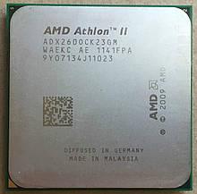 Процессор AMD sam3 ATHLON II 260 - 2 ЯДРА  ( 2 по 3.2 Ghz каждое ) ADX2600CK23GM sam2 am2+  am3 с ГАРАНТИЕЙ