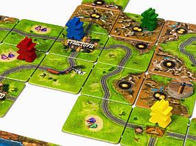 Настольная игра Каркассон Золотая Лихорадка (Carcassonne: Gold Rush), фото 3