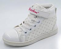 Ботинки для девочки белые весна осень, 31-36