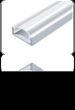 LED-профиль алюминиевый 16х7 мм (без покрытия)