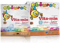 Витамины для детей OLIMP Olimpek Vita-min Plus Junior multivitamin 15 sachets