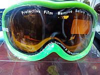 Окуляри лижні дитячі 1300 (акрил, пластик, PL, еластан, колір оправи в асортименті)
