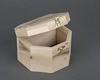 Шкатулка заготовка деревянная