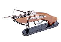 Сувенирное оружие арбалет зажигалка пьезо №259