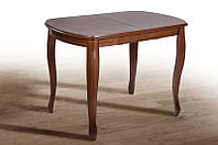 Стол обеденный раскладной Турин орех 1200+400х800х760, фото 1