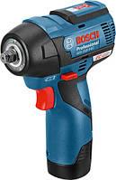 Аккумуляторный ударный гайковерт Bosch GDS 10.8 V-EC L-BOXX (06019E0100)