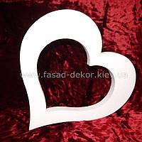 Сердце из пенопласта -30 см