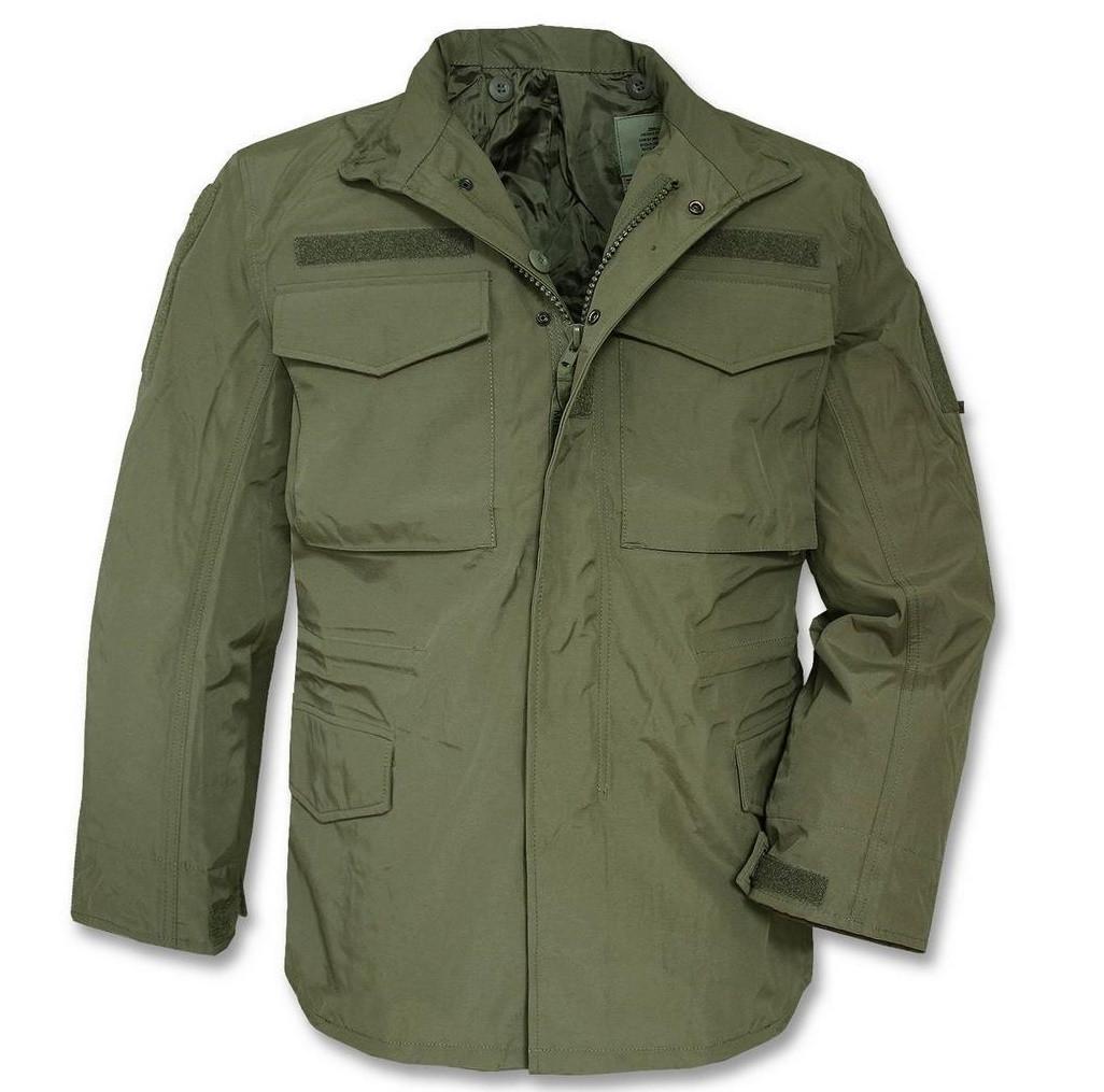 Куртка влагозащитная мембрана MilTec M65 Olive 10317001