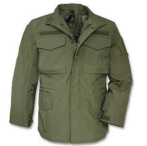 Куртка влагозащитная мембрана MilTec M65 Olive 10317001, фото 2
