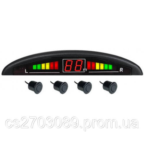 Парктроник Celsior Parking-Radar CS-P4 черный,серебро - Max-market в Днепре