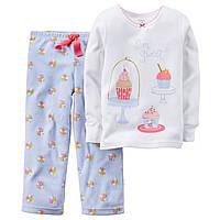 Пижама флисовая на девочку  рост до 98 см (3Т) Carters