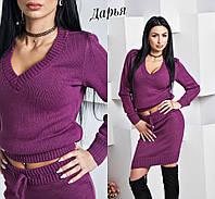 Женский костюм  юбка+кофта у-5510471