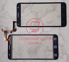 Alcatel 5010d One Touch Pixi 4 сенсорний екран, тачскрін чорний